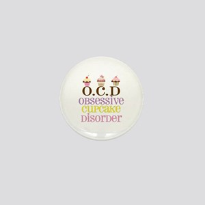 Obsessive Cupcake Disorder Mini Button